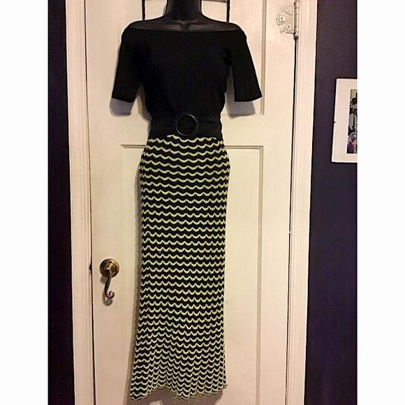 Zara Knit Top & Skirt & Tahari dress